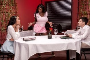Jordi El Nino Polla, Alexis Tae, Ebony Mystique Giving Tips To Get A Tip [Best of Brazzers]