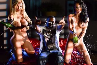 Alektra Blue, Nikki Benz, Keiran Lee Hang Low [Best of Brazzers]
