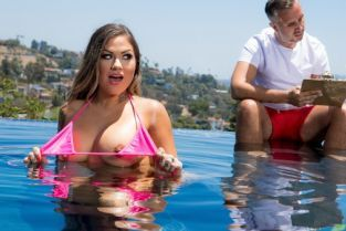 Keiran Lee, Karmen Karma Learning Breaststroke [Best of Brazzers]