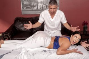 Mick Blue, Angela White Assential Oil [Best of Brazzers]