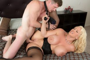 Brick Danger, Alura TNT Jenson Testing My Son In Law [Best of Brazzers]