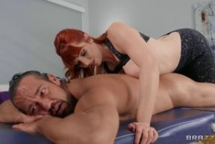 Brazzers Lauren Phillips Stiff Roommate Massage DirtyMasseur