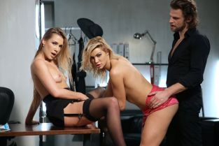 DorcelClub - Alexis Crystal, Cherry Kiss She decides, They Act