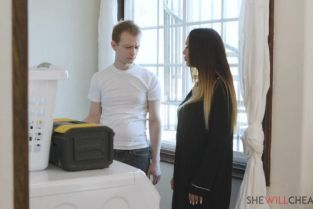 SheWillCheat - McKenzie Lee Mckenzie Lee gets even with her cheating husband by screwing the hung repairman