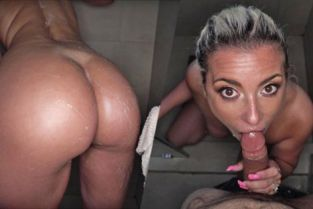 FilthyPOV - Alana Luv Soaping Up My Stepmom In The Shower