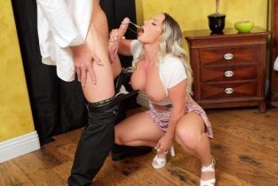 Cali Carter, Johnny Sins Her Slutty Thoughts BrazzersExxtra