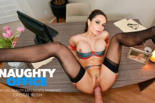 NaughtyAmerica - Crystal Rush Your marriage counselor Crystal Rush wants to fuck your brains out! NaughtyOffice