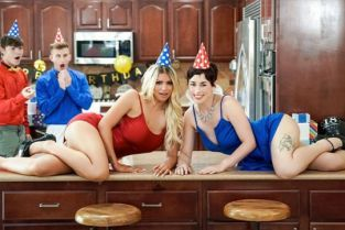 MomSwap - Olive Glass, Brooklyn Chase Birthday Swap Surprise