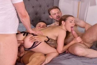 PornWorld - Alexis Crystal 3 Dudes Stuff Cleaning Lady Alexis Crystal Airtight for Slacking Off On the Job GP2069