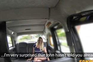 FakeTaxi - New Driver Gives Local Hot Blonde Good Anal Sex