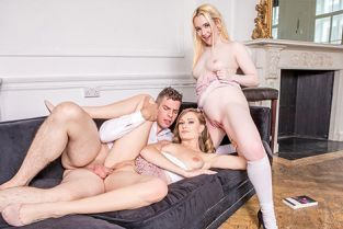 Private - Honour May, Lana Harding Hot Threesome