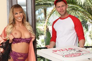 CherryPimps - Cherie Deville The Lady And The Pizza Boy