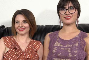BackroomCastingCouch - Angeline, Sophie 3way