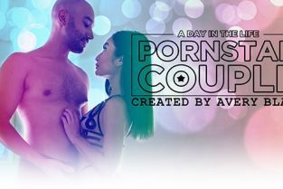 AdultTime - Avery Black A Day in the Life: Pornstar Couple