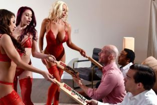 Johnny Sins, Monique Alexander, Madison Ivy, Nicolette Shea 1 800 Phone Sex: Line 8 [Best of Brazzers]