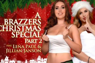 Jillian Janson, Lena Paul A Brazzers Christmas Special: Part 2 [Best of Brazzers]