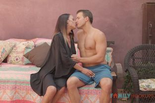 FamilyHookups - Mckenzie Lee McKenzee Lee and her massive tits fuck her hot stepson while in quarantine