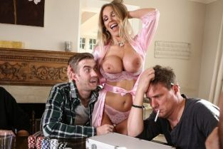 Danny D, Rebecca More Poker Face [Best of Brazzers]