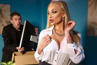 Kayla Green, Danny D Tits, Thighs And Office Supplies [Best of Brazzers]
