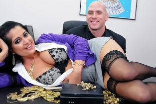 Johnny Sins, Kimber Kay Goldfinger My Pussy [Best of Brazzers]