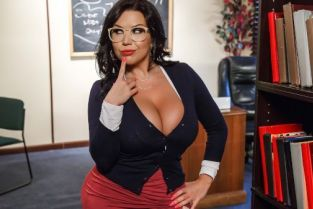 Tyler Nixon, Sheridan Love Our College Librarian [Best of Brazzers]