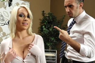 Lexi Swallow, Keiran Lee Swallowing her Boss [Best of Brazzers]