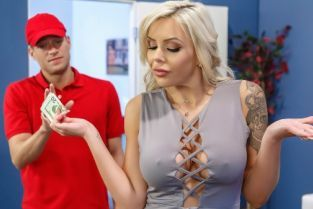 Xander Corvus, Nina Elle ZZ Pizza Party: Part 2 [Best of Brazzers]
