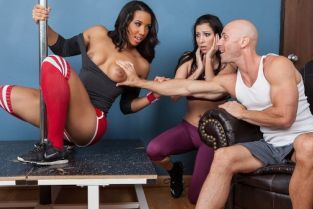 Johnny Sins, Sophia Fiore Slutty Girl Fitness [Best of Brazzers]