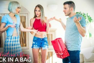 MyFamilyPies - Jessie Saint, Kyler Quinn Valentines Day Dick In A Bag – S17:E5