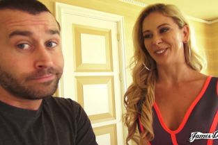 JamesDeen - Cherie Deville Behind The Scenes