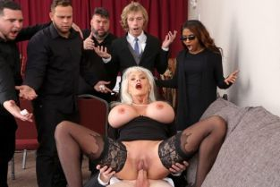 Sally D'Angelo Burying The Dick 10 Inch Deep BrazzersExxtra