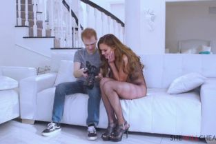 SheWillCheat - Aila Donovan Hot brunette Alia Donovan cheats on her husband with a young photographer
