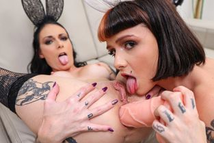 EvilAngel - Candy Crush, Cris Bathory Anal Dildo Play