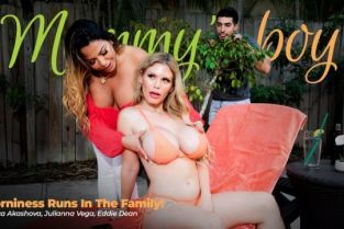 MommysBoy - Julianna Vega, Casca Akashova Horniness Runs In The Family