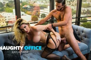 NaughtyAmerica - Kayla Paige Badass boss babe Kayla Paige has her way with an employee she never even knew worked at her company NaughtyOffice