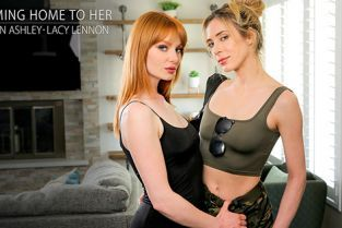 GirlsOnlyPorn - Aiden Ashley, Lacy Lennon Coming Home To Her