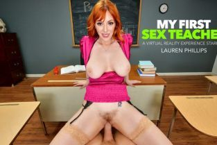 NaughtyAmerica - Lauren Phillips You need an &#;A&#; in Ms. Lauren Phillips' class and she wants your big cock in her pussy as a trade!! Featuring MyFirstSexTeacher