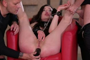 HouseofTaboo - Nataly Gold BDSM DP Punishment by two Masters GP1889