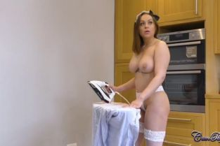 CumPerfection - Willow Sky Naked Maid