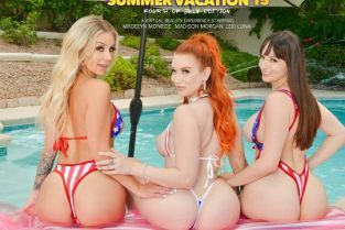 SummerVacation - Lexi Luna, Madelyn Monroe, Madison Morgan It's a very naughty 4th of July with Madelyn Monroe, Madison Morgan, Lexi Luna